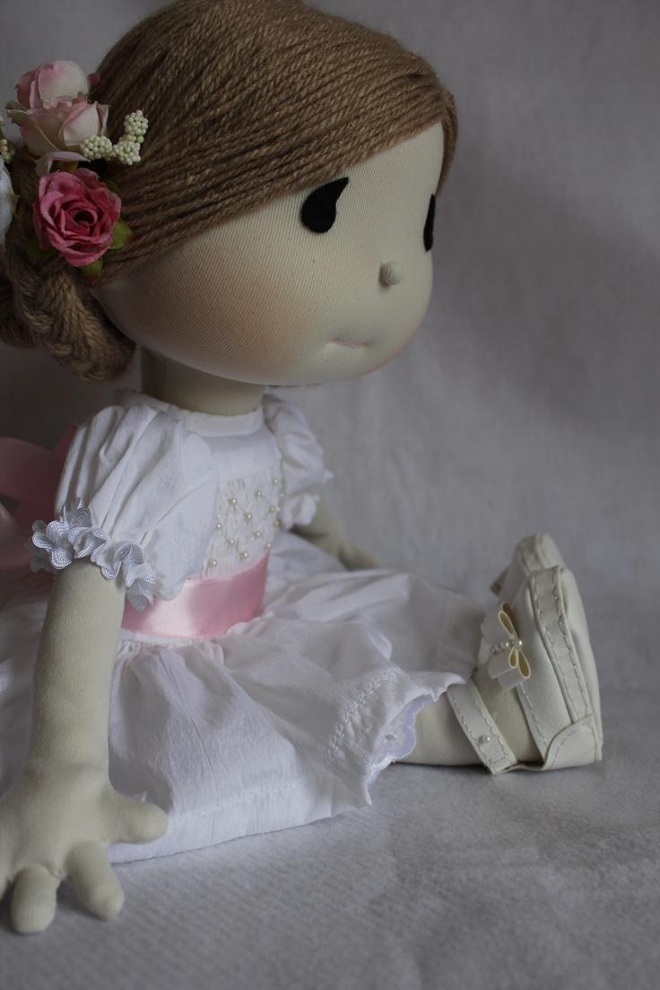 Boneca daminha by Vita di Panno