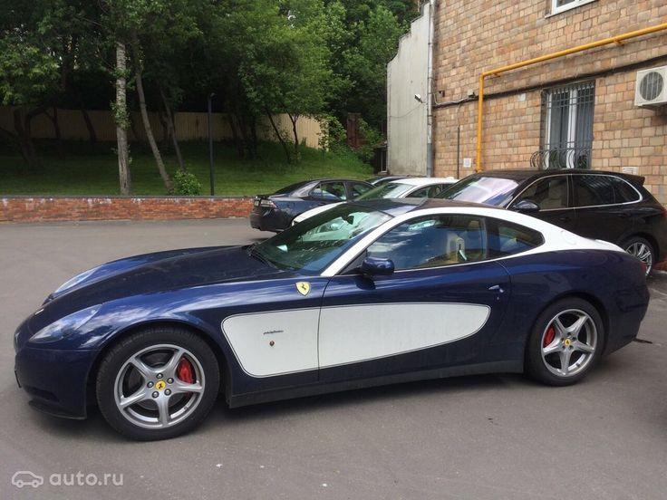 Buy Ferrari 612 Scaglietti with mileage in Moscow in 2004, the price of 4 million rubles - Avto.ru