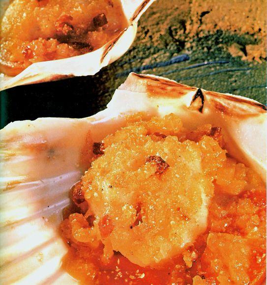 195 best marisco images on pinterest seafood recipe and snacks vieiras gratinadas al albario forumfinder Image collections