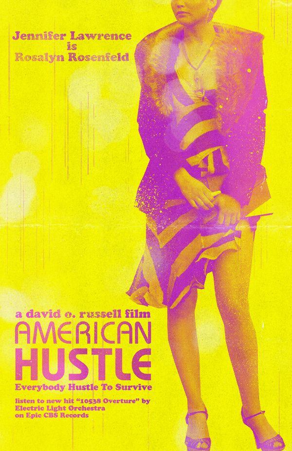 American Hustle.  Jennifer Lawrence is Rosalyn Rosenfield
