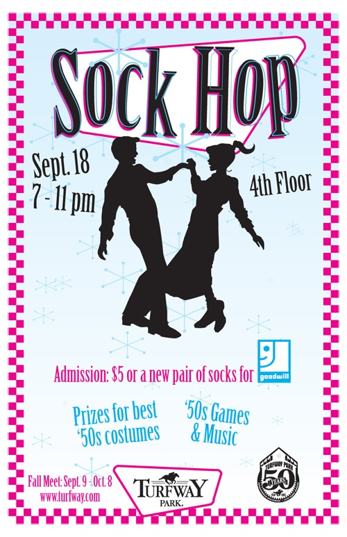 1950s sock hops       which we loved to do in the 70 u0026 39 s