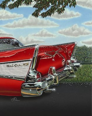 57 Chevy! American Dream! #ThrowbackThursday