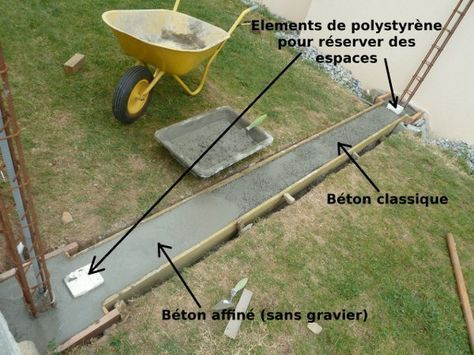 80 best idées déco images on Pinterest Bricolage, Tips and - Couler Une Dalle Beton Exterieur