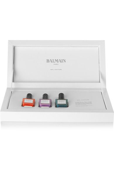 Balmain Paris Hair Couture - Nail Couture Gift Set - 2 - Bright pink - one size