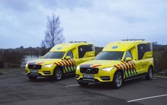 Xc90 Ambulance >> Volvo Xc90 Ambulance Klaar Voor De Nederlandse Wegen Cool