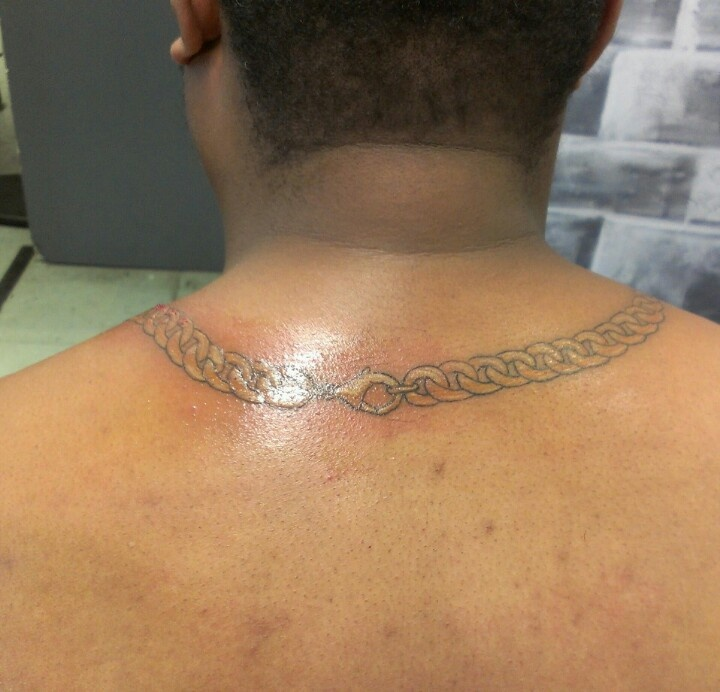 Chain Link Tattoo: Clasp Of Cuban Link Chain.. (With Images)
