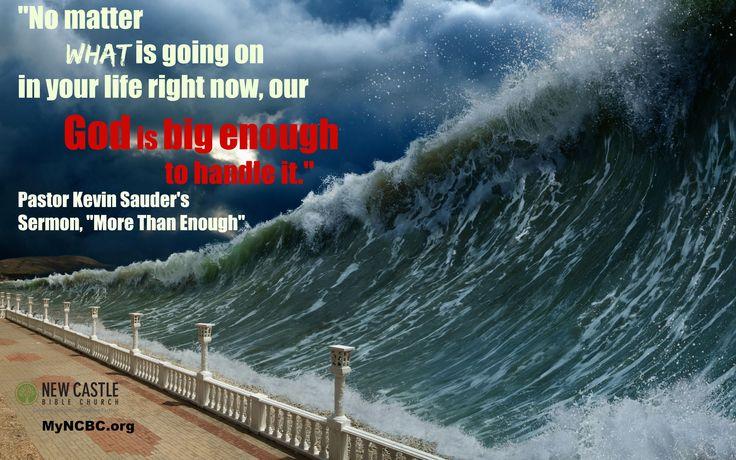 enough trust love Tsunami