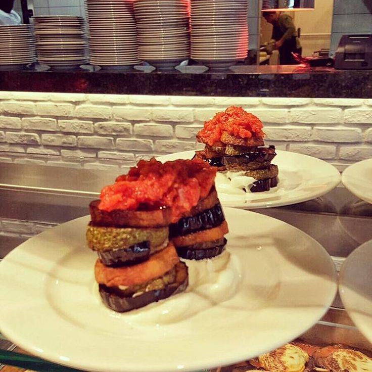 Şakşuka - a traditional appetizer / fried vegetables with tomato sauce and yoghurt  #lokantapazar #secmecelezzetler #food #foodie #instafood #foodlover #foodpics #foodblogger #foodshare #foodblog #foodbloggers #foodgram #restaurant #vegan #gourmet #gurme #chef #chefsofinstagram #chefs #instafoodie #lovefood #foodaddict #foodlovers #foodism #fooddiary #eating #eatwell #eat #istanbulfood #veganfoodshare