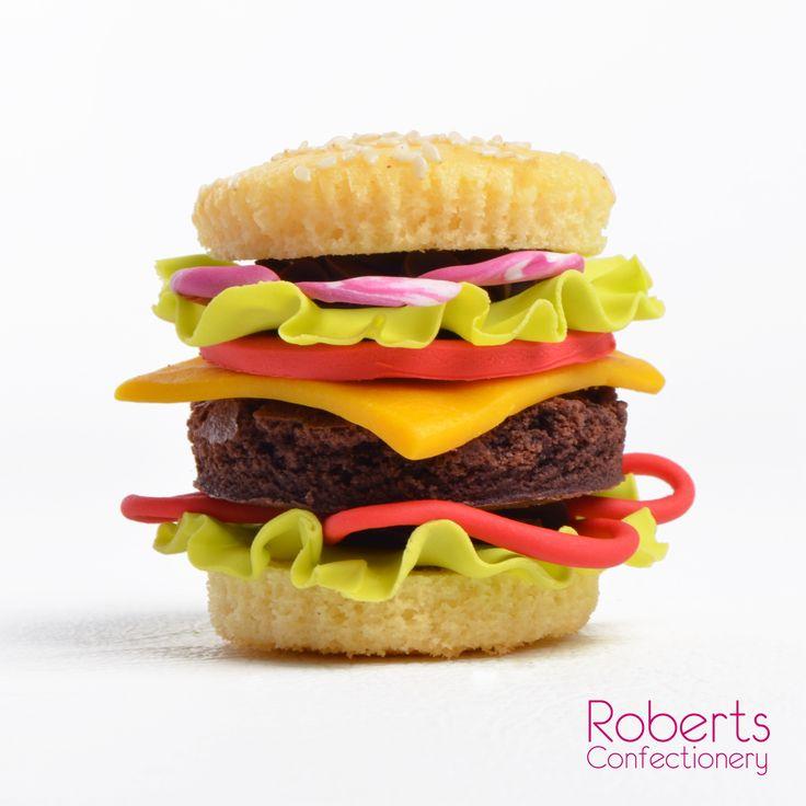 Make with Roberts Vanilla Mud Cake Mix, Roberts Chocolate Mud Cake Mix and Satin Ice Fondant.