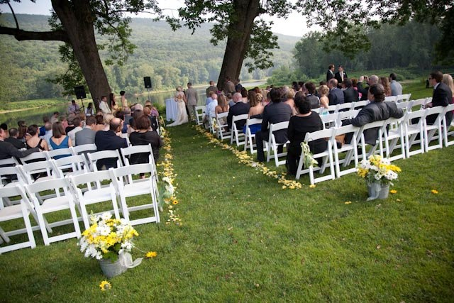 Get married at Shawnee in a picturesque ceremony! #PoconoMtns