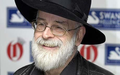 Sir Terry Pratchett, I don't know what I'll do with myself when you stop writing books. I really don't.