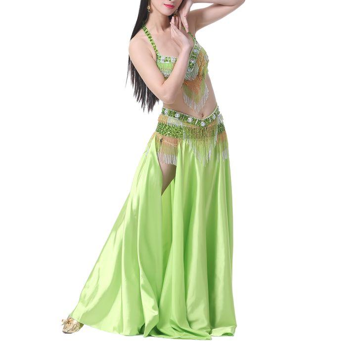 Opentip.com: BellyLady Belly Dance Fringe Bra & Waist Belt, Tribal Belly Dance Outfits