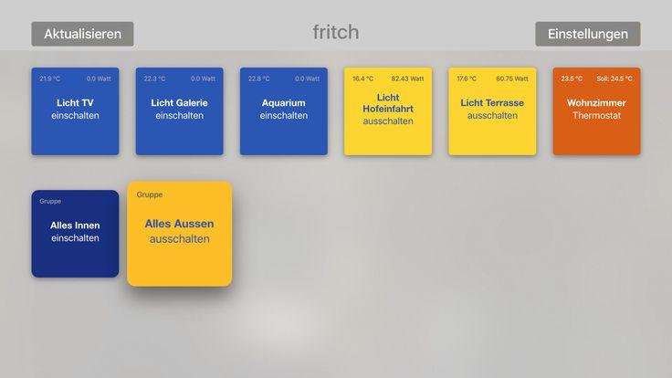 """""""fritch"""" - iOS-App für FRITZ!Box Smart Home Nutzer"""