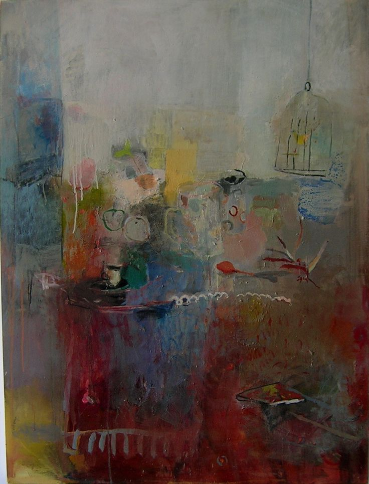daydreaming oil on canvas Odette Marais