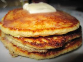 Luscious Low Carb: Adriana's Low Carb Pancakes // 2 eggs 4 oz cream cheese softened, I used Philadelphia brand 1 scoop of Jay Robb vanilla whey protein powder 1/4 cup golden flax meal 3 drops liquid Splenda for zero carbs or any other low carb sweetener equivalent to 2 tbsp 1/4 cup half and half