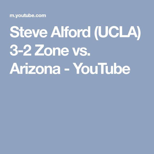 Steve Alford (UCLA) 3-2 Zone vs. Arizona - YouTube