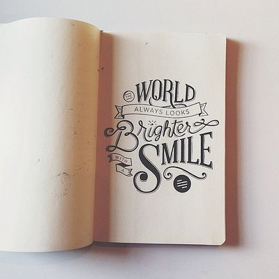 betype:  Hand drawn #typography.