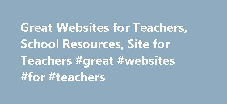 Great Websites for Teachers, School Resources, Site for Teachers #great #websites #for #teachers http://education.remmont.com/great-websites-for-teachers-school-resources-site-for-teachers-great-websites-for-teachers-3/  #great websites for teachers # Sites for Teachers Useful Websites for Teachers Fun Free Kids Crafts Are You Looking For Unique Kids Crafts? This Collection Includes Over 700 Crafts With Illustrations, Printable Templates And Step-by-step Instructions. Easter Crafts, St…