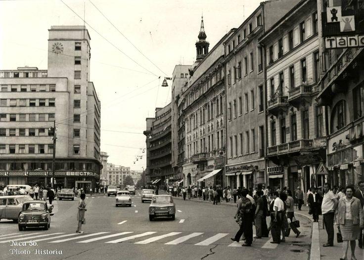 Calea Victoriei, vara anului 1969