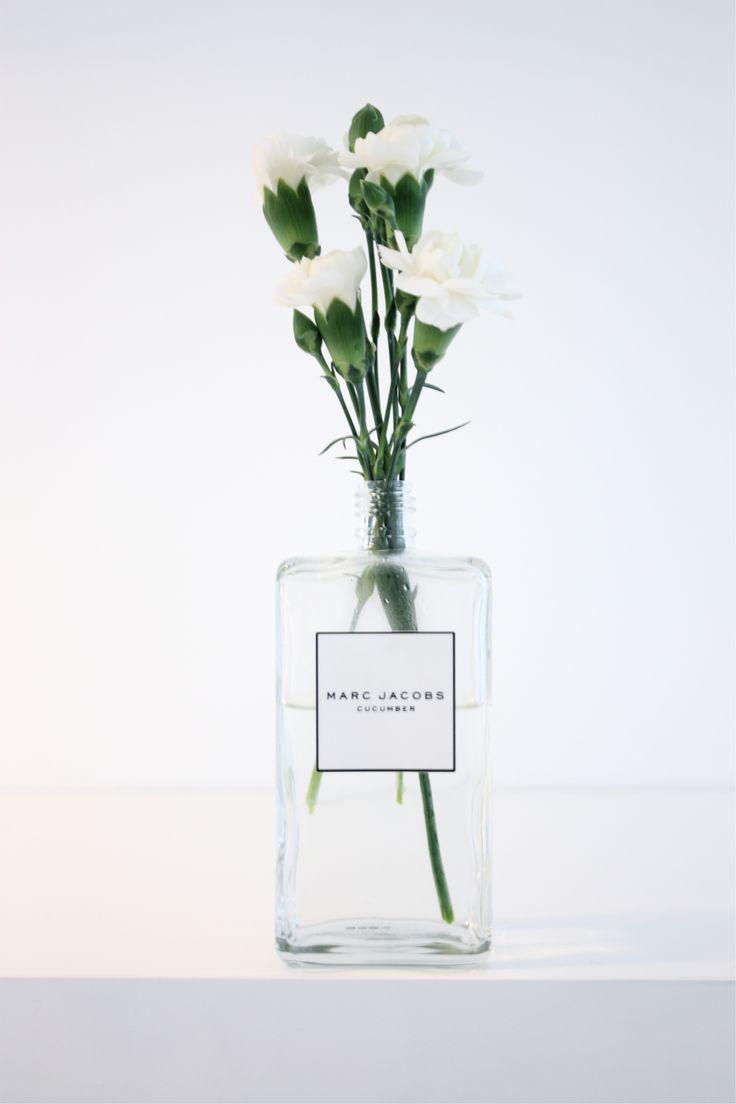 #perfumebottle = #flowervase