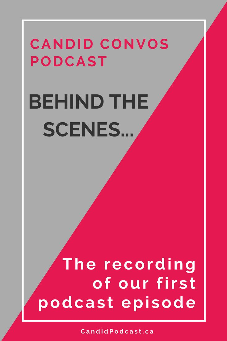 Find out what it's like to record your very first podcast episode, in this special behind-the-scenes tour of what happened when we started our podcast! Get podcast tips in this article....