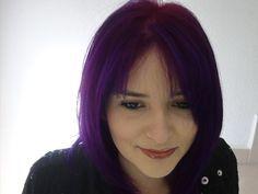 Como decolorar el cabello a Violeta