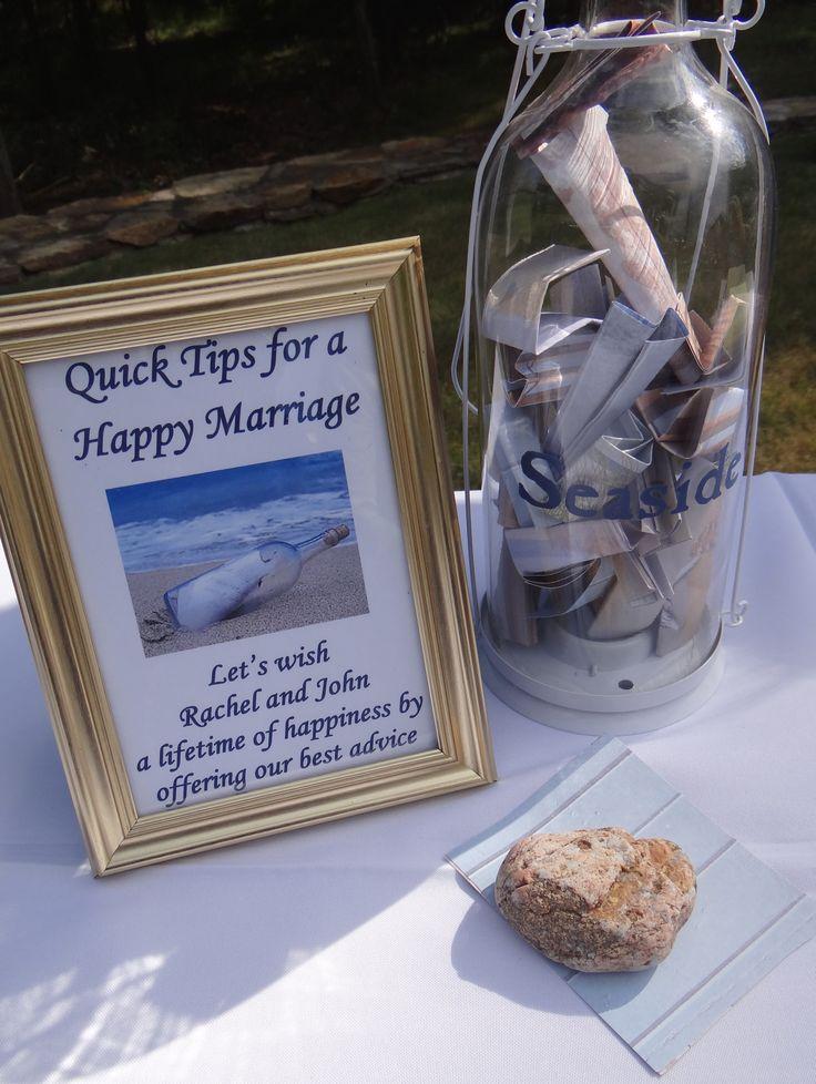 Beach Theme Inspired Bridal Shower Ideas