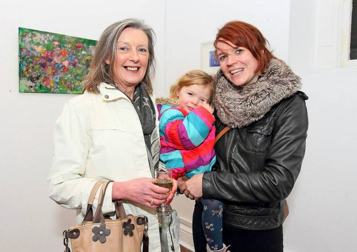 Maeve Herraghty with Aoife Rattigan and Claire Meaney