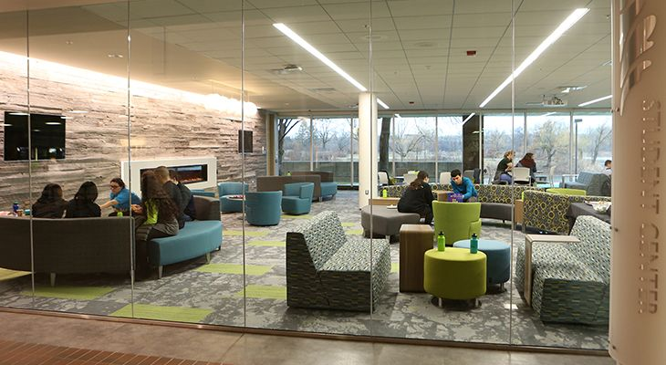 Oakton Community College Student Center: an Investment in Interaction - Legat Architects