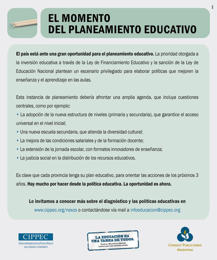 """""""Educación -momento-"""" 2009"""
