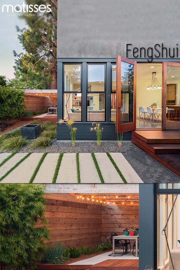 Para tener buena energía en el hogar, la puerta no debe estar bloqueada con elementos grandes como plantas