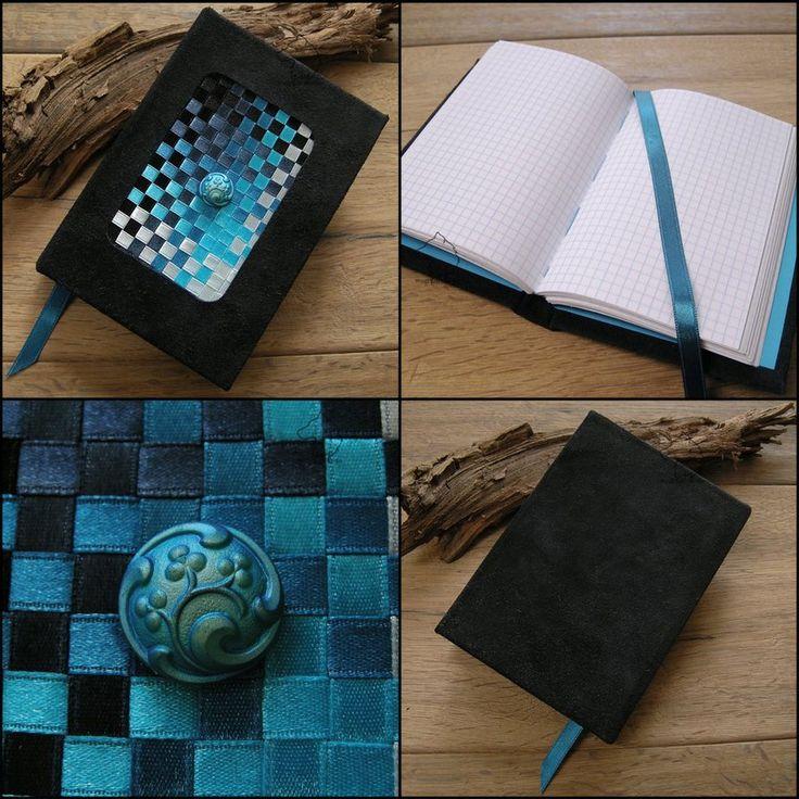 Bluebook - handmade notebook by Dark-Lioncourt.deviantart.com on @DeviantArt