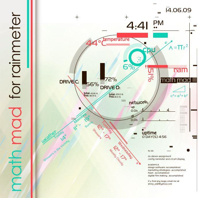Tron Rainmeter – Jerusalem House
