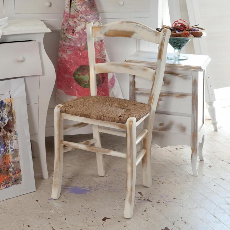 Sedia in legno laccato Van Gogh by Castagnetti  http://www.keihome.it/tavoli-e-sedie/sedie/van-gogh-castagnetti/1803/