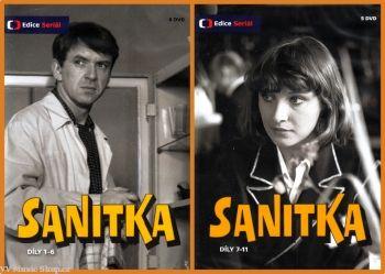 Televizní seriál z Edice České televize Sanitka na DVD.