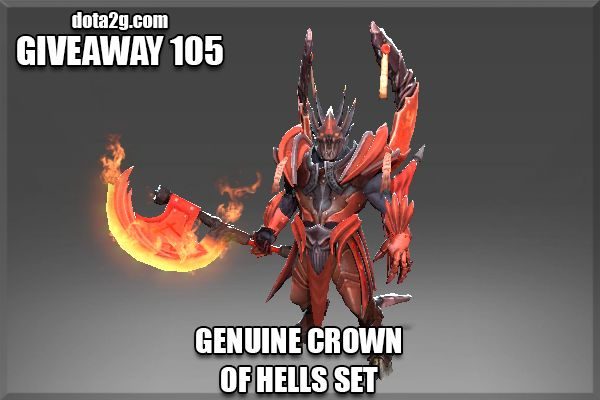 Giveaway 105 - Genuine Crown of Hells Set GANITO YAN