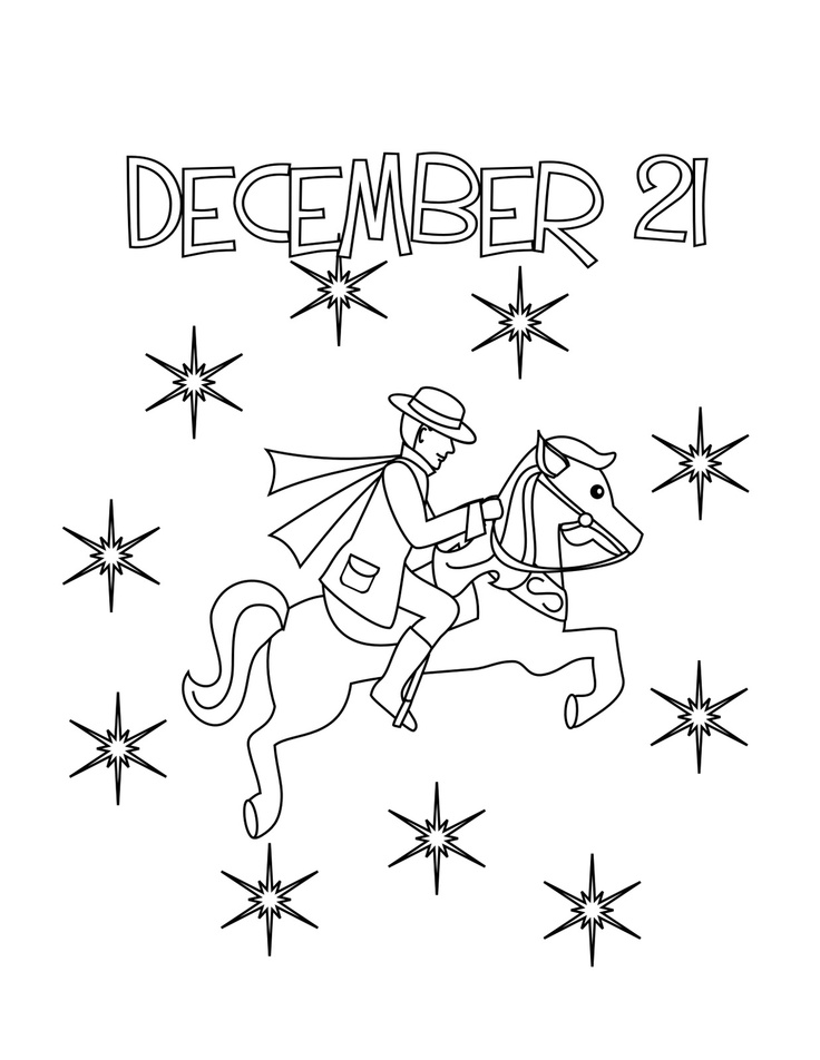twelve days of christmas embroidery - 9 Ladies Dancing Coloring Page