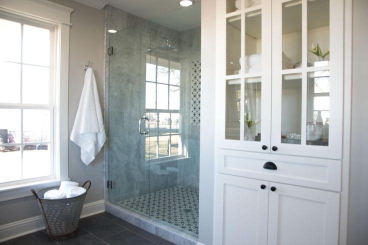 The Carriage House   Season 3   Fixer Upper   Magnolia Market   Bathroom   Chip & Joanna Gaines   Waco, TX