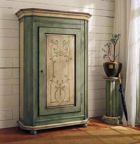 Mobili decorati, decorazione di mobili decorati a mano - .:: MOBILI LACCATI ::.