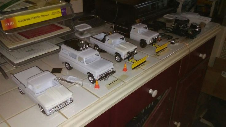 My fleet of 1966 chevy trucks by trj