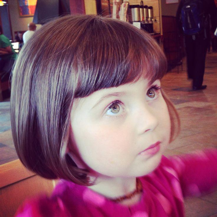 Penelope's new hairdo! #haircut #toddlerhair #toddler #girl #shorthair