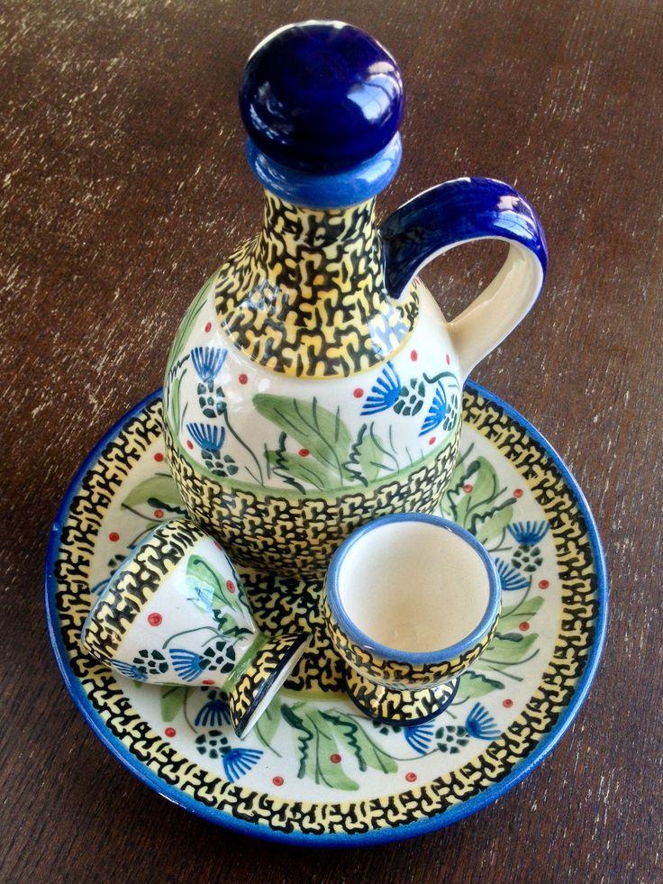И для масла, и для уксуса, и для соуса, и.... на твой вкус! #посударучнойработы #керамикаручнойработы #посуда #ceramics #pottery #polishpottery  ceramic tableware   pottery   polish pottery   boleslawiec   посуда   керамическая посуда   польская керамика    польская посуда   болеславская керамика   керамика