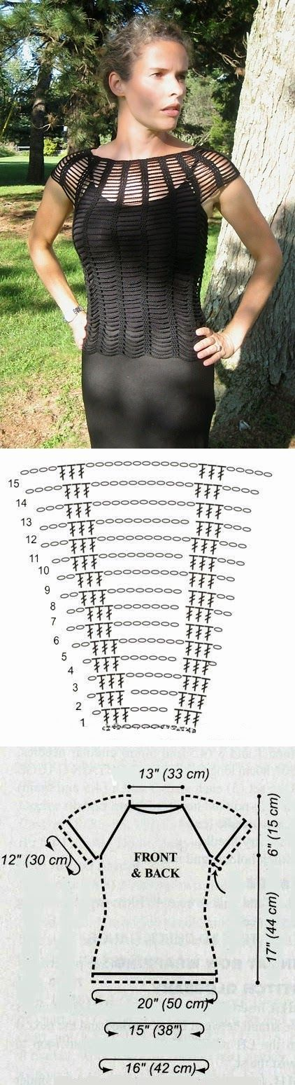 Mejores 30 imágenes de blusa may en Pinterest   Ropas de ganchillo ...