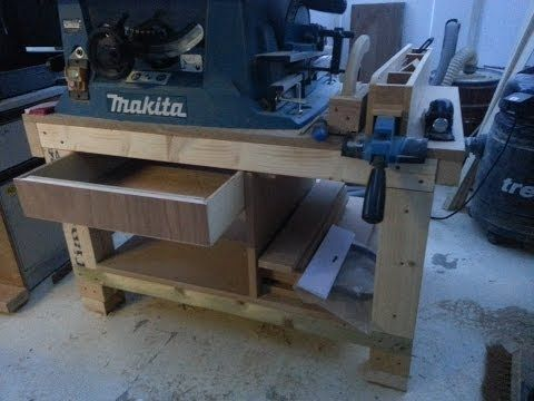 How to build a cheap Table saw stand from scrap. Pt1 - YouTube