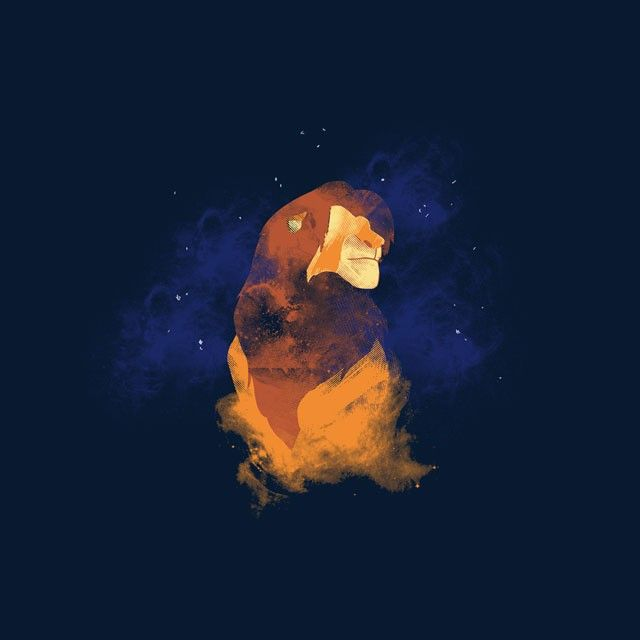 """Lion Spirit"" by Edwoody is $11 today at ShirtPunch.com (08/22). #tshirt #TheLionKing #Simba #Mufasa #KingMufasa #Disney"