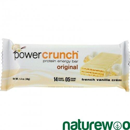 Power Crunch - 248476 - Bar - French Vanilla Cream - Case of 12 - 1.4 oz