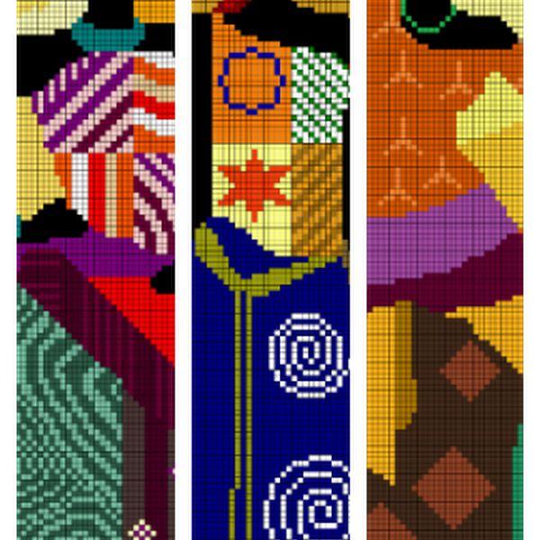 Patrón punto de cruz: Africana (3)