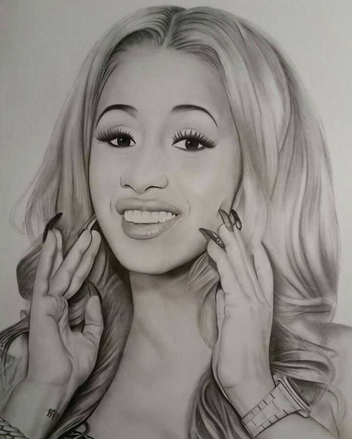 "Cardi B Art Daily On Instagram: ""Deadass This Is One Of"