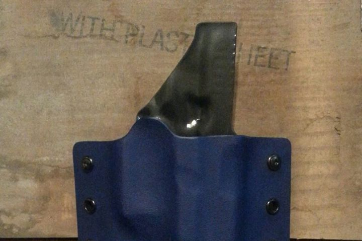 Zero Eng blue concealed holster