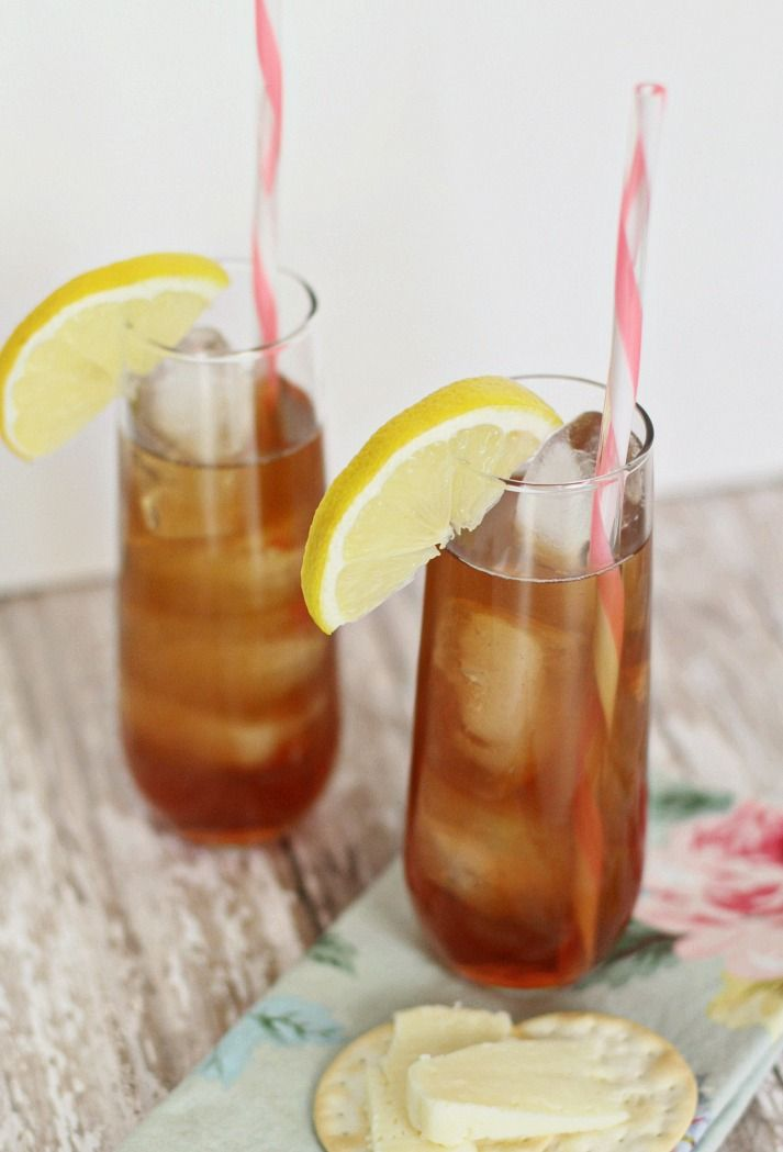 Southern Style Iced Tea Cocktail Recipe Drinks Cocktails